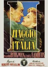 游览意大利海报