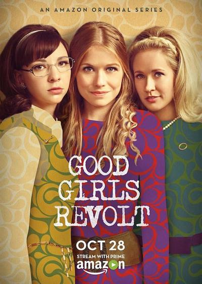 好女孩的反抗海报