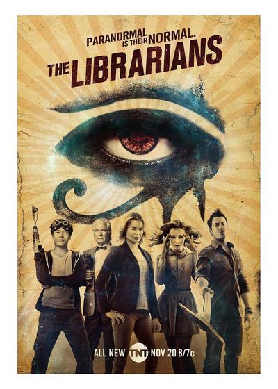 图书馆员 第三季海报