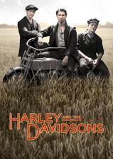 哈雷与戴维森海报