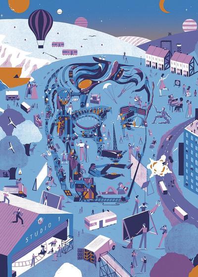 第70届英国电影学院奖颁奖典礼海报