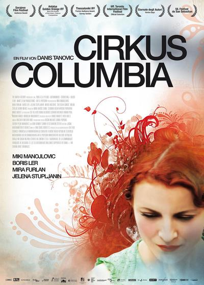 哥伦比亚马戏团海报