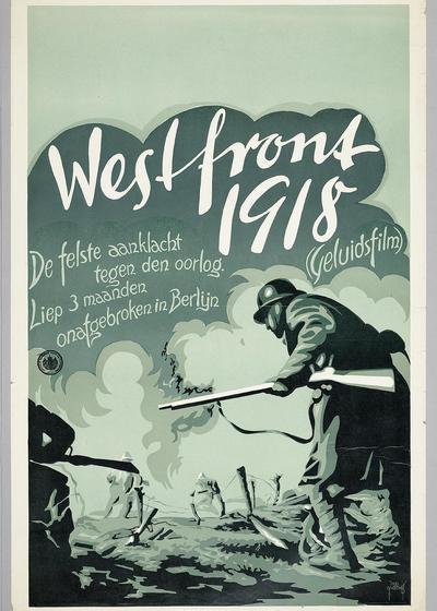 西线战场1918海报