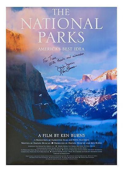 北美国家公园全纪录海报
