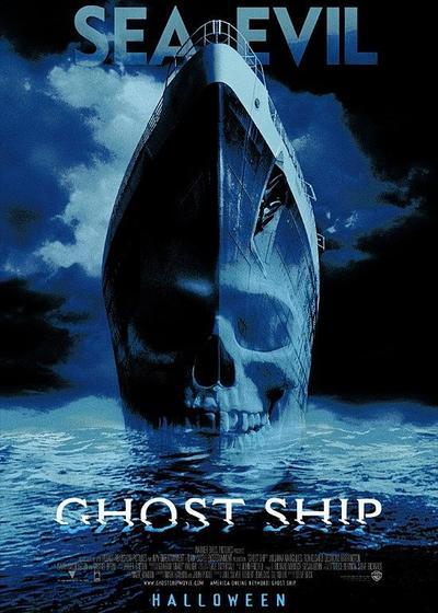 幽灵船海报