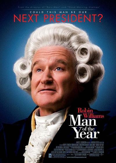 年度人物海报