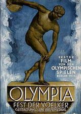 奥林匹亚1:民族的节日海报