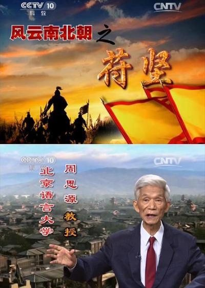 百家讲坛:风云南北朝之苻坚海报