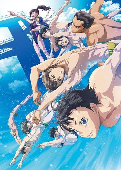 跳水男孩海报