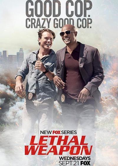 致命武器 第一季海报