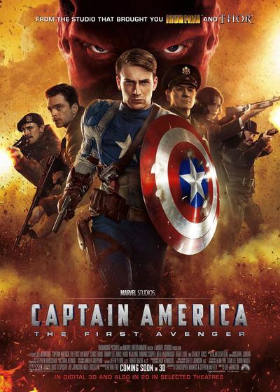 美国队长海报