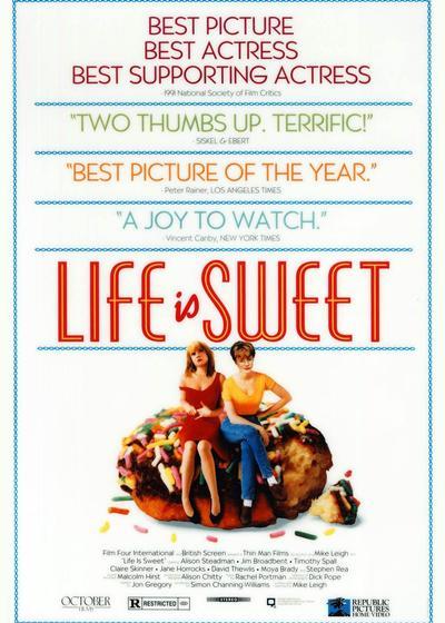 生活是甜蜜的海报