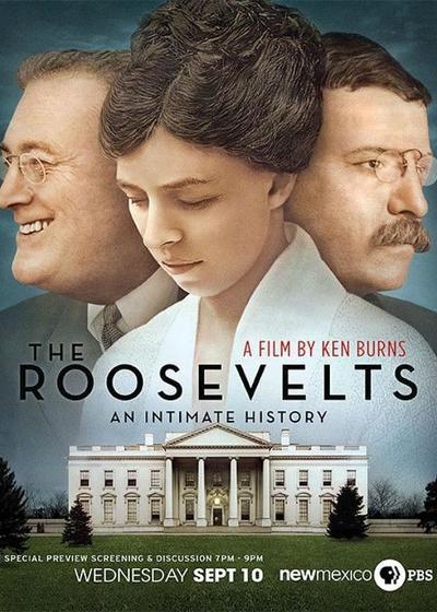 罗斯福家族百年史海报
