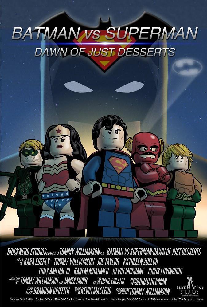 乐高蝙蝠侠大战超人2:甜品黎明