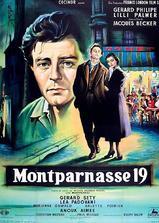 蒙巴尔纳斯19号海报