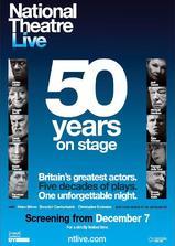 英国国家剧院50周年庆典海报