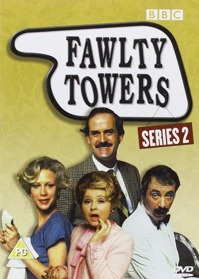 弗尔蒂旅馆  第二季海报