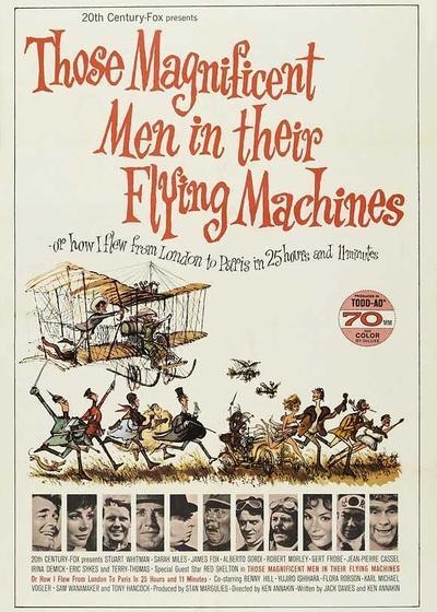 飞行器里的好小伙,或我是怎样花25小时11分从伦敦飞到巴黎海报