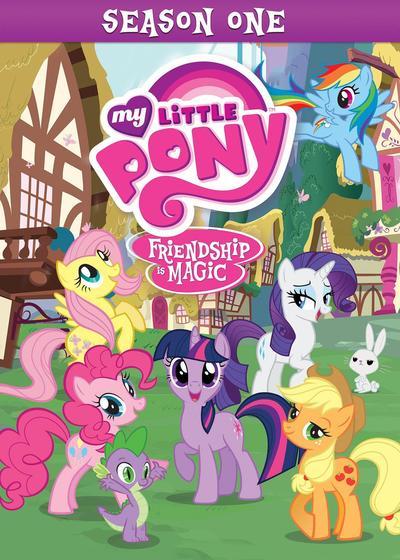 我的小马驹:友谊大魔法 第一季海报