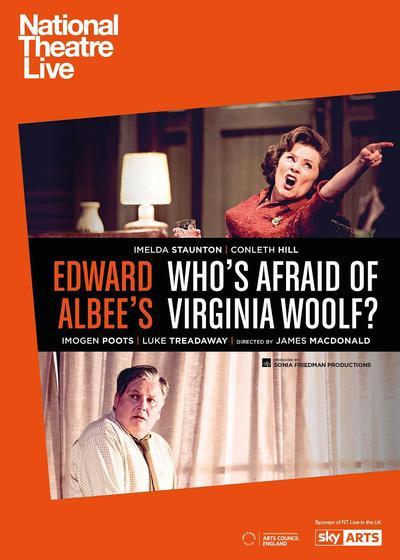 谁害怕弗吉尼亚·伍尔芙?海报