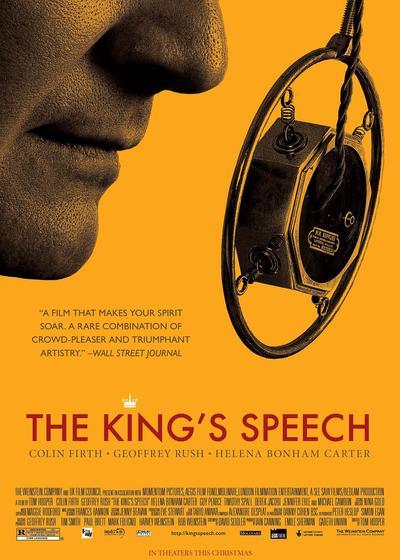 国王的演讲海报
