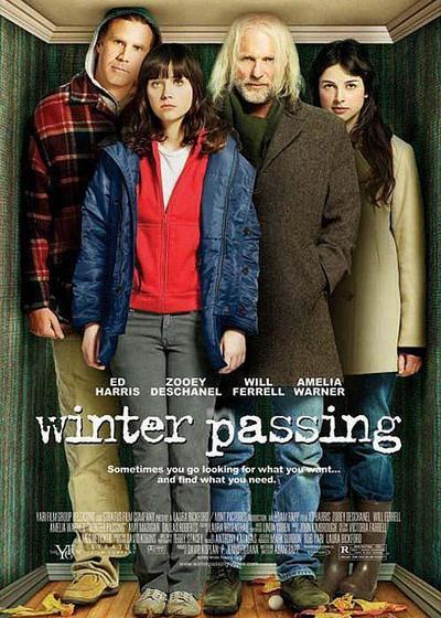 走过冬季海报