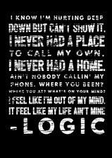 Logic: 1-800-273-8255海报