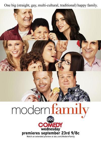 摩登家庭 第一季海报