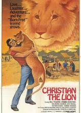 狮子克里斯蒂安海报