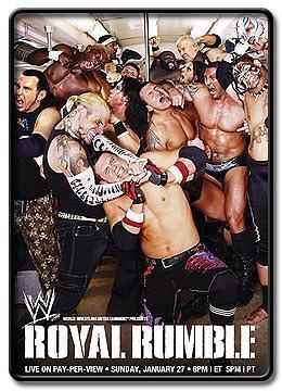 WWE Royal Rumble (2008)海报