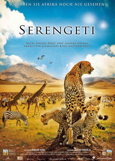 非洲:塞伦盖蒂国家公园海报