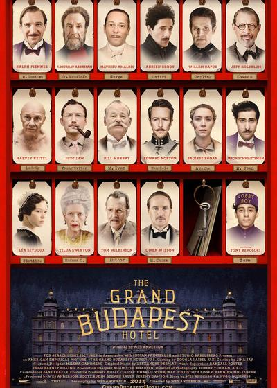布达佩斯大饭店海报
