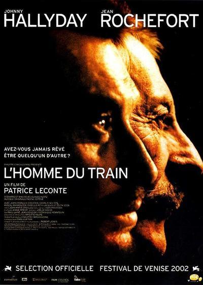 火车上的男人海报