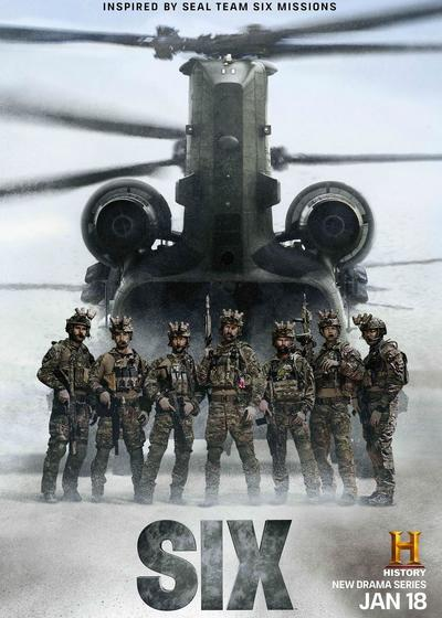 海豹六队 第一季海报