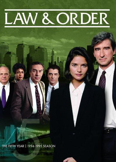 法律与秩序 第五季海报