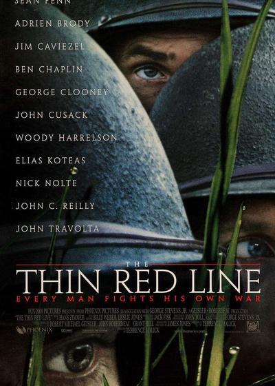 细细的红线海报