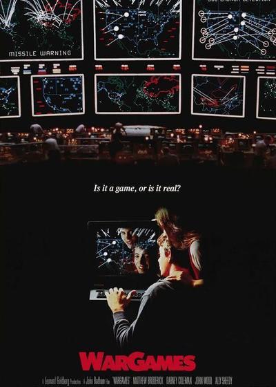 战争游戏海报