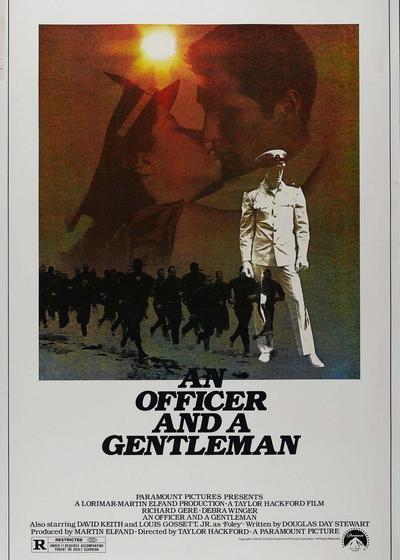 军官与绅士海报