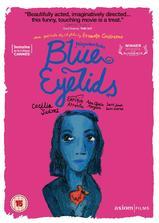 蓝色眼影海报