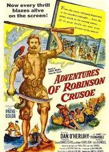 鲁宾逊漂流记海报