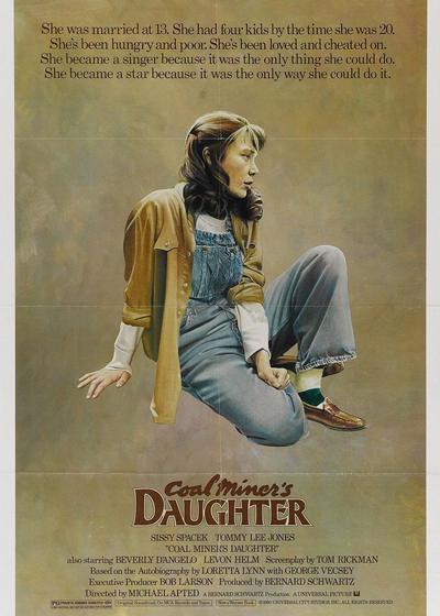 矿工的女儿海报