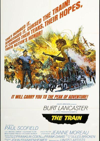 战斗列车海报