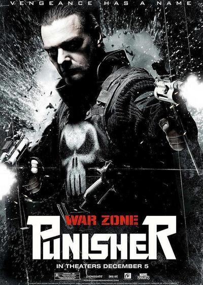 惩罚者2:战争特区海报