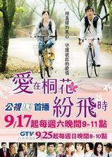 爱在桐花纷飞时海报