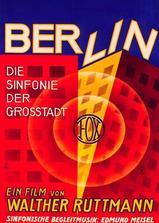 柏林:城市交响曲海报