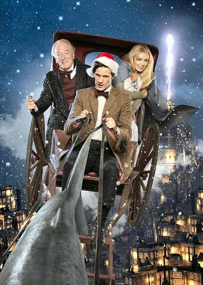 神秘博士:圣诞颂歌海报