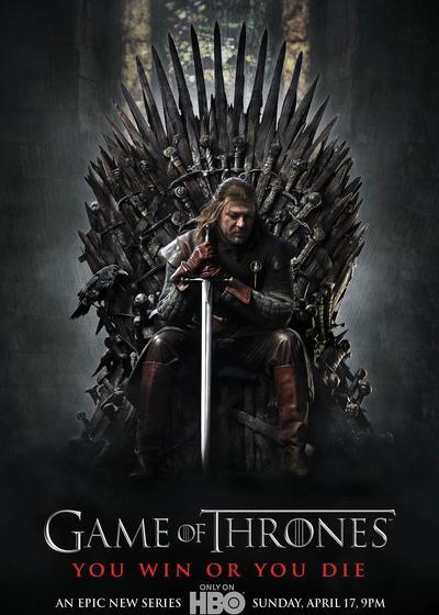 权力的游戏 第一季海报