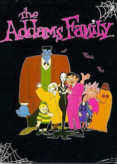 亚当斯一家 第一季海报