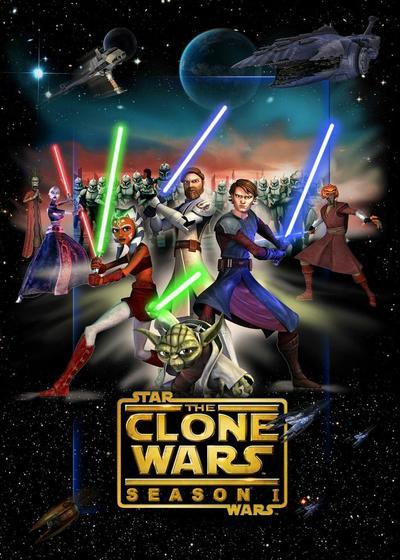 星球大战:克隆人战争 第一季海报