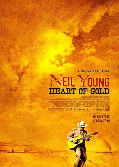 尼尔·杨:金子心海报
